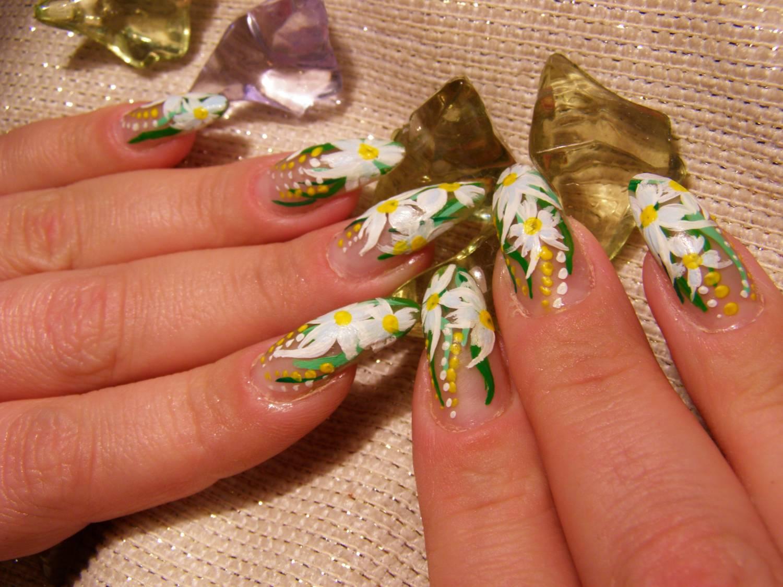 Дизайн ногтей весна лето. 82 фото маникюра. -Фото дизайна 43